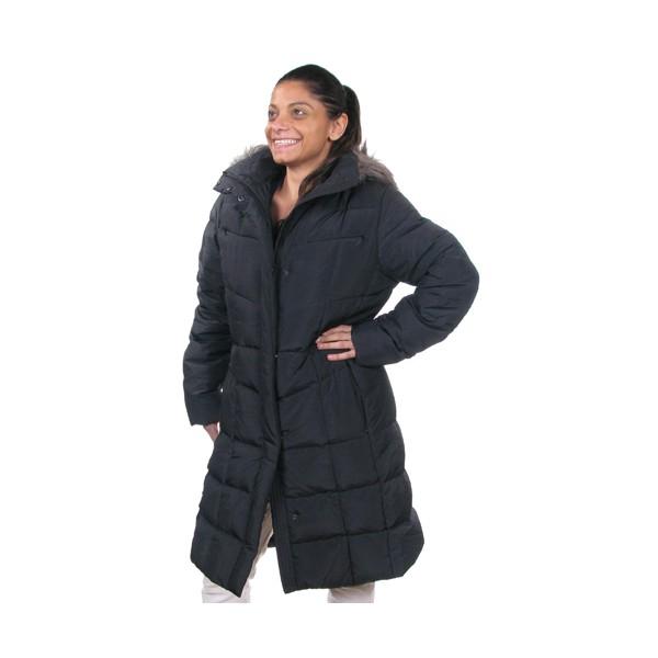 Doudoune Carrefour Klein noire Calvin femme CWKO1002BLK kwiXZuPTOl
