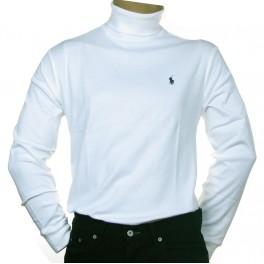 Sous pull Ralph Lauren col roulé blanc homme - Carrefour des Marques b412b857b313